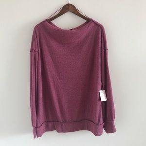 NWT Free People We The Free Main Squeeze Hacci Med